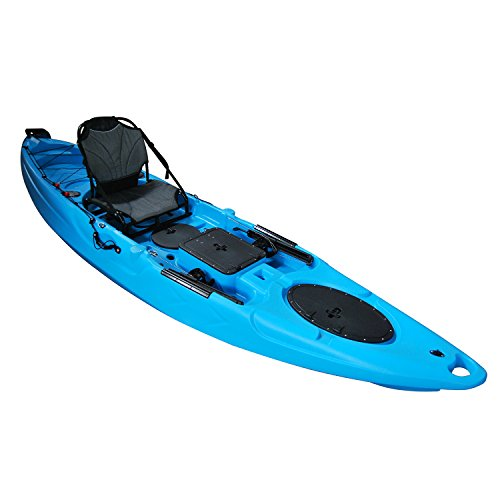 Useful uh ra220 11 5 foot riptide angler sit on top for Best cheap fishing kayak